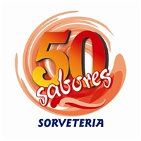 50 sabores, Logo e Cartao de Visita, sorveteria