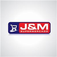 Supermercado J&M, Logo, Pequena rede de supermercado, que trabalha com a venda de mercadorias em varejo