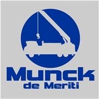 Munck de Meriti, Logo, Transporte e Serviços
