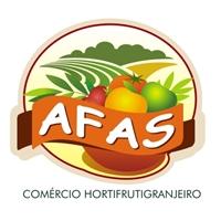 AFAS Comercio Hortifrutigranjeiro, Logo e Cartao de Visita,   Venda de atacado de alimnetos pereciveis como frutas, verduras, hortaliças e cereais.