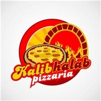 pizzaria Kalib halab, Logo, lanchonete e pizzaria (fast Food)