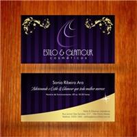 Estilo & Glamour cosméticos, Sugestão de Nome de Empresa, Beleza