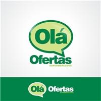 OláOfertas Supermercados, Logo e Cartao de Visita, Supermercados