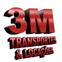 3M TRANSPORTES E LOCAÇOES, Logo, LOCAÇAO DE EQUIPAMENTOS PESADOS E TRANSPORTE