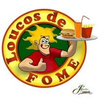 Logo para fast food, Anúncio para Revista/Jornal, Alimentaçao
