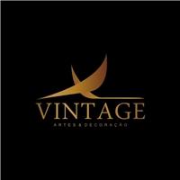 Vintage Artes e Decoraçao Ltda, Logo, Artes, Decoraçoes e Molduraria