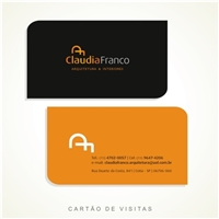 CUADIA FRANCO ARQUITETURA E DESIGN, Papelaria (6 itens), Arquitetura