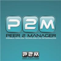 Peer 2 Manager, Logo, Computador & Internet