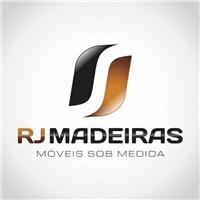 Rj Madeiras - Móveis sob medida, Logo e Cartao de Visita, moveleiro