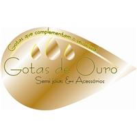 Gotas de Ouro, Logo, Semi joias e acessorios