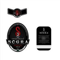 "Rótulo para Cerveja - ""Cerveja Sogra"" - ""S"", Logo, Cervejaria"