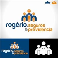 Rogério Corretor de seguros e previdência, Logo, seguros e previdência