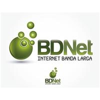 Logo BDNet, Logo e Cartao de Visita, Provedor de Internet Banda Larga
