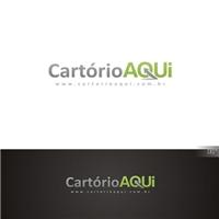 CartorioAqui, Logo e Cartao de Visita, Empresa de suporte em automaçao para cartorio