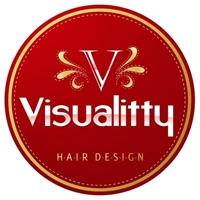 Visualitty, Logo, salao de beleza