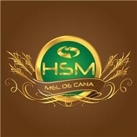 logotipo para marca HSM mel de cana, Logo, Alimentar
