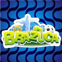 BRAZUCA, Logo e Cartao de Visita, LOGO QUE VAI ESTAMPAR CAMISA, SANDALIA, BIQUINE