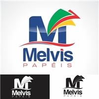 Melvis Papeis, Logo, papel toalha interfolha..papel higienico..