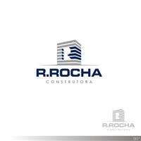 R Rocha Construtora, Tag, Adesivo e Etiqueta, Construção & Engenharia