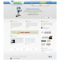 Zunet Provedor de Internet, Logo em 3D, Provedor de Internet