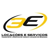 3E LOCAÇOES & SERVIÇOS, Fachada Comercial, Transporte de cargas com caminhoes basculhantes, locaçao de máquinas