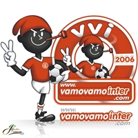 Logotipo com Mascote para o Blog Vamo Vamo Inter, Anúncio para Revista/Jornal, Metal & Energia