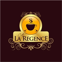Café La Regence, Tag, Adesivo e Etiqueta, Alimentos & Bebidas