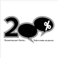 Duzentos Por Cento, Logo, Computador & Internet