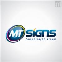 MT SIGNS COMUNICAÇAO VISUAL, Logo e Cartao de Visita, Marketing & Comunicação