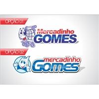 Mercadinho Gomes, Logo, Alimentos & Bebidas