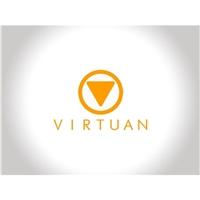 VIRTUAN - Ecommerce Solutions, Logo, Computador & Internet