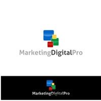 Marketing Digital Pro, Logo, Computador & Internet