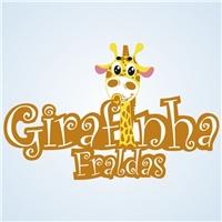 Girafinha Fraldas, Tag, Adesivo e Etiqueta, Metal & Energia