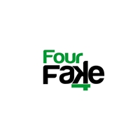 Fourfake, Logo, Artes, Música & Entretenimento