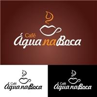 Café Agua na Boca, Logo, Alimentos & Bebidas