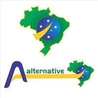 MAPA DO BRASIL - ALTERNATIVE TUR, Tag, Adesivo e Etiqueta, Viagens & Lazer