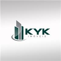 Logo para corretora de imovéis - KYK Imovéis, Logo, Imóveis