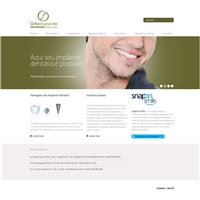 Ortoimplante Dr fabio Holanda, Cartão de visita, Saúde & Nutrição