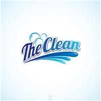 The Clean, Logo, Limpeza & Serviço para o lar