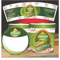 Embalagem (pote) para sorvetes - Marca Fittore Sorvetes Artesanais, Cartaz/Pôster, Alimentos & Bebidas