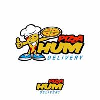 Pizza Hum, Tag, Adesivo e Etiqueta, Alimentos & Bebidas