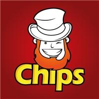 Criaçao de mascote para batata chips tipo Pringles, Folheto ou Cartaz (sem dobra), Alimentos & Bebidas