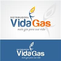 VIDA GAS, Logo e Cartao de Visita, Tecnologia & Ciencias
