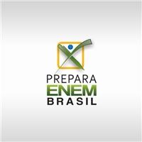 PREPARA ENEM BRASIL, Logo e Cartao de Visita, Educação & Cursos