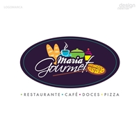 Maria Gourmet, Tag, Adesivo e Etiqueta, Alimentos & Bebidas