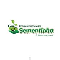NOME - Centro Educacional Sementinha SLOGAN - O futuro começa aqui, Logo e Cartao de Visita, Educação & Cursos