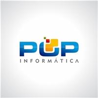 :: Pop Informática ::, Logo, Computador & Internet