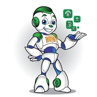 Mascote Maquina Viva, Anúncio para Revista/Jornal, Contabilidade & Finanças