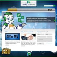 MAQUINA VIVA, Logo em 3D, Contabilidade & Finanças
