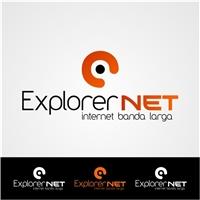 explorernet, Logo e Cartao de Visita, Marketing & Comunicação